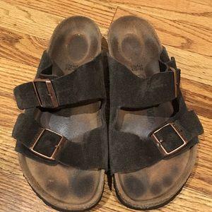 Birkenstock Arizona Suede Sandals sz 39 (US 8-8.5)